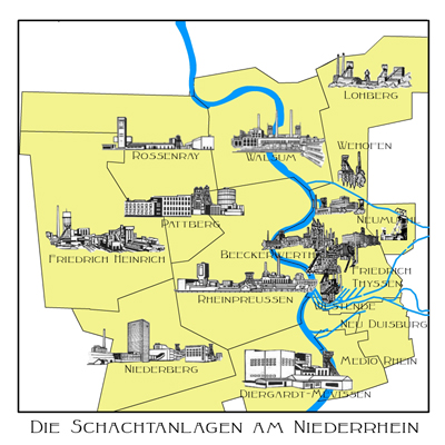 Niederberg Neukirchen Vluyn die zeche niederberg in neukirchen vluyn bergwerk niederberg