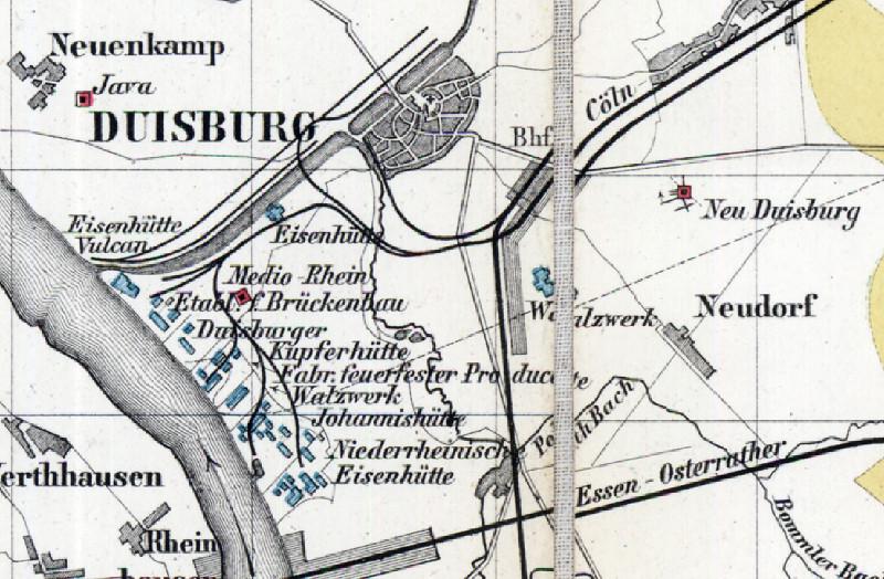 Die Zeche Neu Duisburg Plane Und Karten